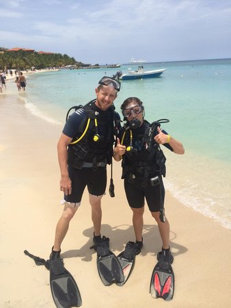 Bananarama Beach and Dive Resort : Short scuba course