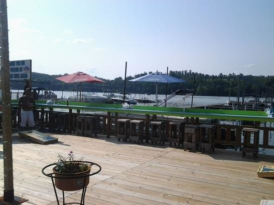 Fat Daddys: view on the lake