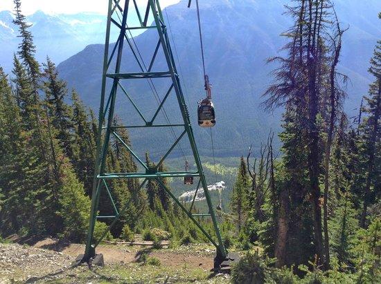 Banff Gondola scenic view