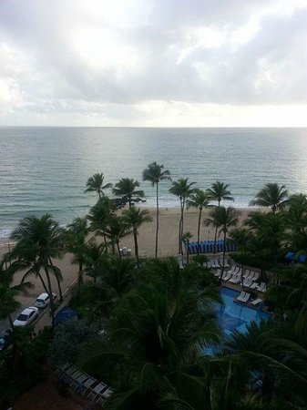 San Juan Marriott Resort & Stellaris Casino: Our view from the 9th floor