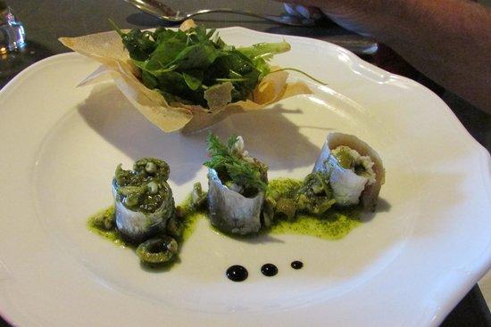 Maison Bronzini Le Bistrot du Moulin : Sardines a la provence