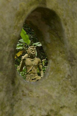 Secret Buddha Garden: Statues