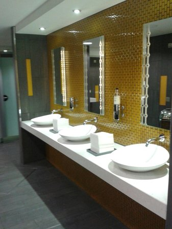 Pullman London St Pancras: Public restrooms ladies