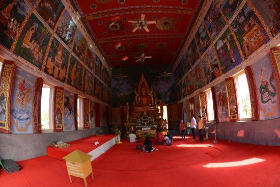 Wat Plai Laem : Murals