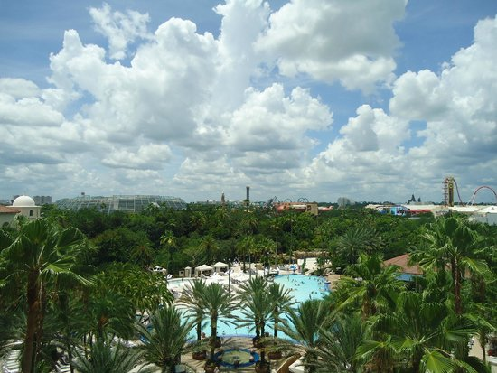 Hard Rock Hotel at Universal Orlando: view from room