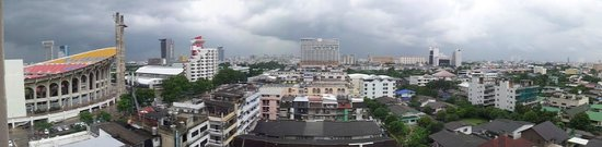 Bangkok Inter Place Hotel: View from our room