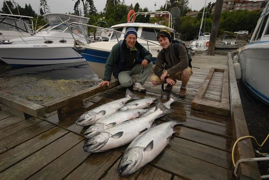 Sooke Salmon Charters : July 4/14