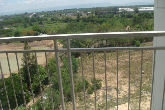 Kantary Hotel, Kabinburi : view from balcony