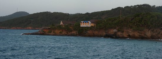 Paya Bay Resort : The cliff rooms