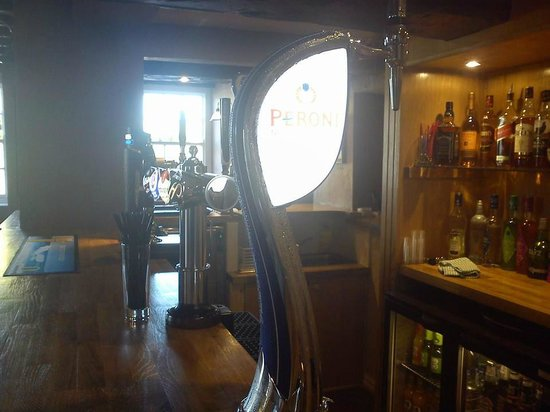 The Wheatsheaf Inn and Restaurant: Peroni On Tap - YES PLEASE
