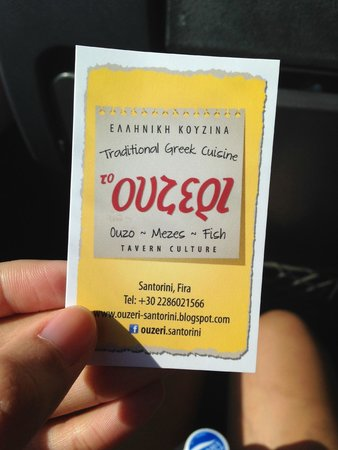OceanWave Tours: The yummy resto that he recommended.