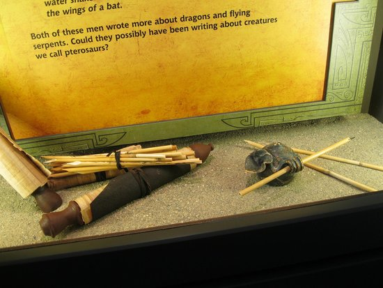 Creation Museum: Small example of displays. Check on-line for Noah's ark replica! :D