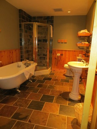Buffalo Mountain Lodge: Huge bathroom