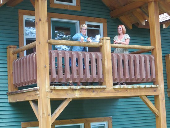 Buffalo Mountain Lodge: Balcony