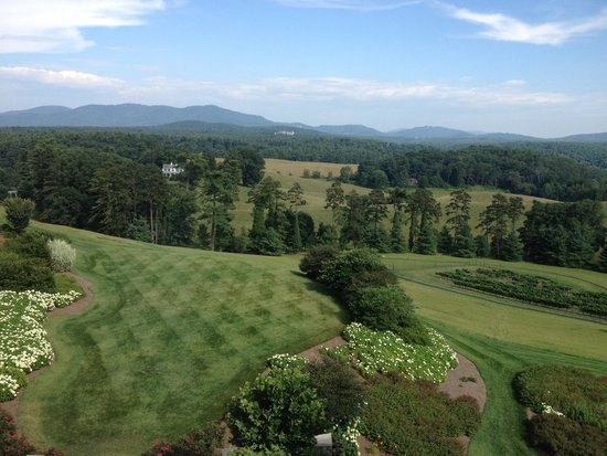 The Inn on Biltmore Estate: View from hotel room