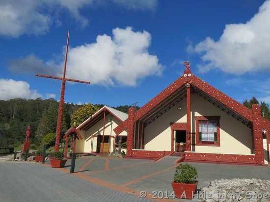 Whakarewarewa - The Living Maori Village: Place of worship