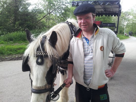 Killarney Towers Hotel & Leisure Centre: Patrick & his horse Casey