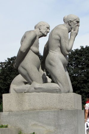 Vigeland Museum: Old couple