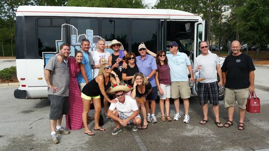 Jax Brew Bus: At the end...everyone is friends.