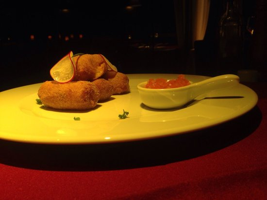 Mistico Sunset Lounge & Restaurant: Croquete de camarão. Excelente.