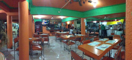 El Moro: Restaurant layout