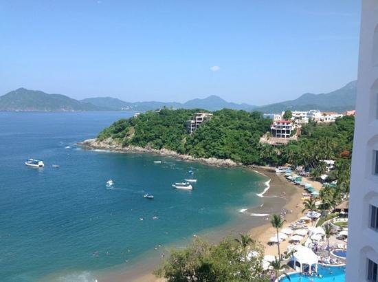 Tesoro Manzanillo: view from our room.  great location.