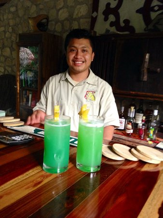 "Table Rock Jungle Lodge : Marty's incredible creation ""The Green Fly Tzib""!"