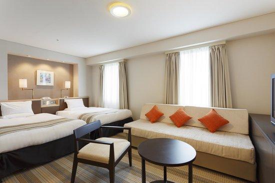 Akasaka Excel Hotel Tokyu : ラージツイン