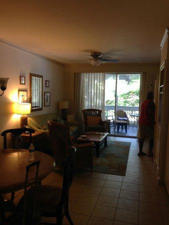 Hyatt Residence Club Key West, Beach House: Livingroom area