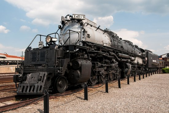 Steamtown National Historic Site: 1 of 8 Remaining UP Big Boy Locomotives