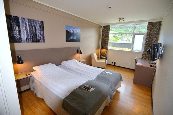 Quality Hotel Sogndal: 部屋