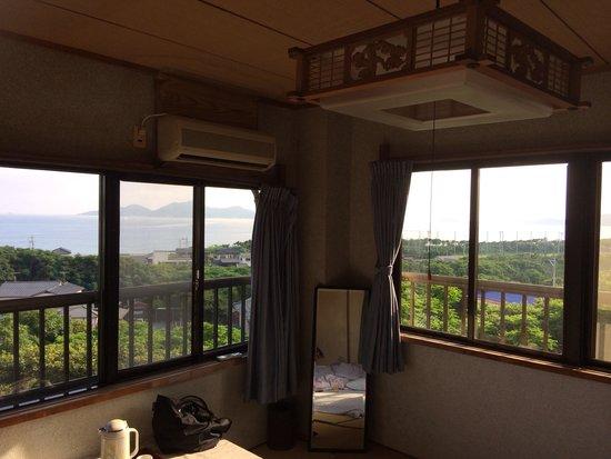 Kappo ryokan Minatoso: 部屋からの眺め