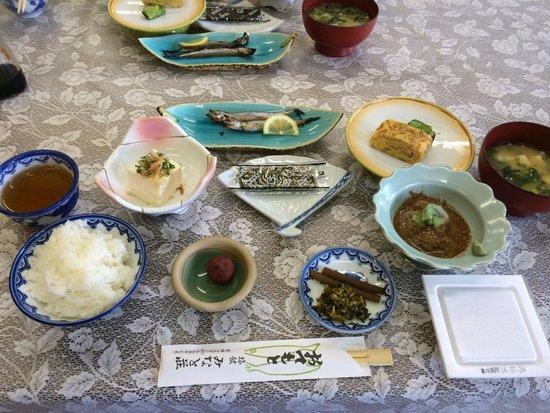 Kappo ryokan Minatoso: 朝食