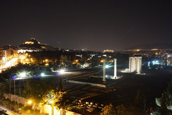 The Athens Gate Hotel: Another shot of the view