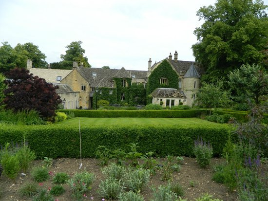 Lords of the Manor Hotel: back and garden