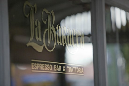 La Baracca: Casual atmosphere