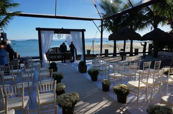 Costa Norte Ponta Das Canas Hotel Florianopolis: Wedding party at the hotel