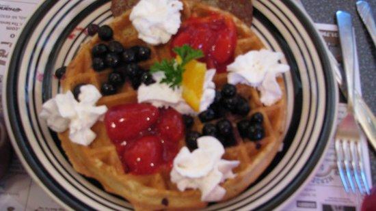 Ala Mode: Red, White & Blue Waffle