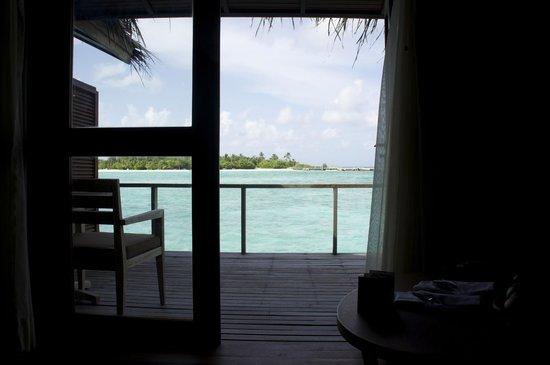 Anantara VeliMaldivesResort : View from inside our room