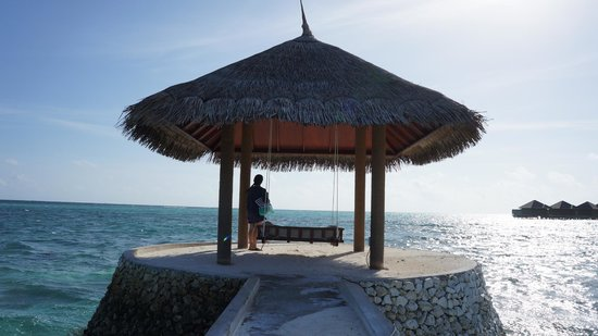 Anantara VeliMaldivesResort: Best place on the island to read/unplug