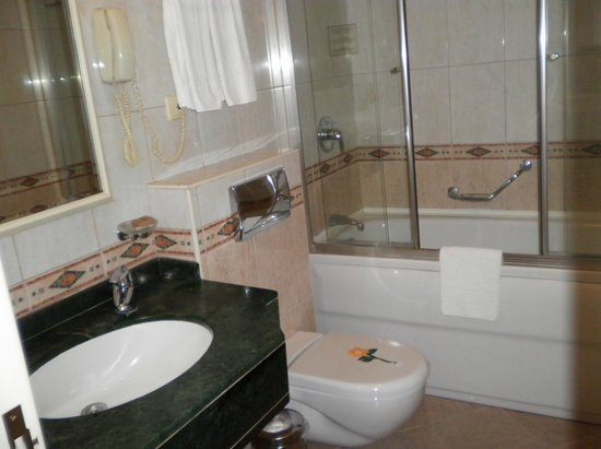 Elite World Prestige Hotel: Baño