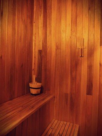 Hosteria Hueney Ruca: sauna seco