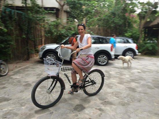 Amansala Eco-Chic Resort + Retreat : rental bikes