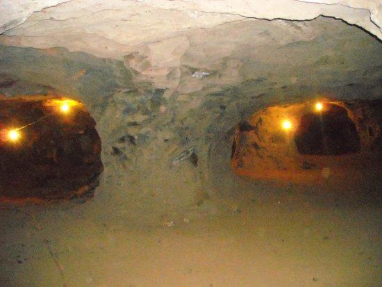 Wanda Mines : Interior de la mina