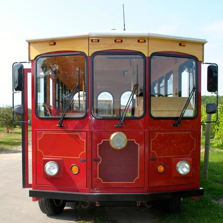 Door County Trolley: Our trolley the ERIC IV