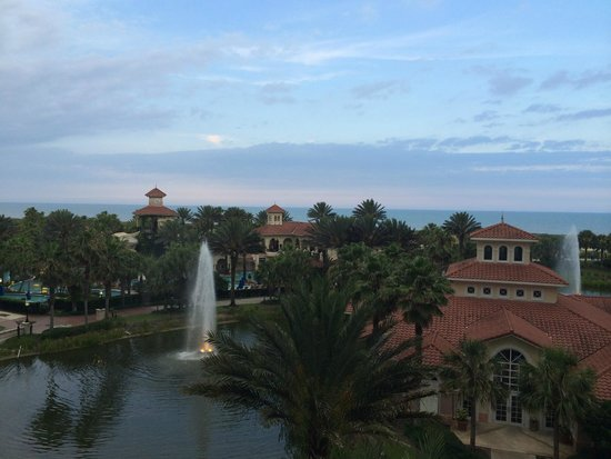 Hammock Beach Resort: View from our room!