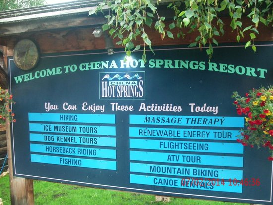 Chena Hot Springs Resort: Some of the attractions