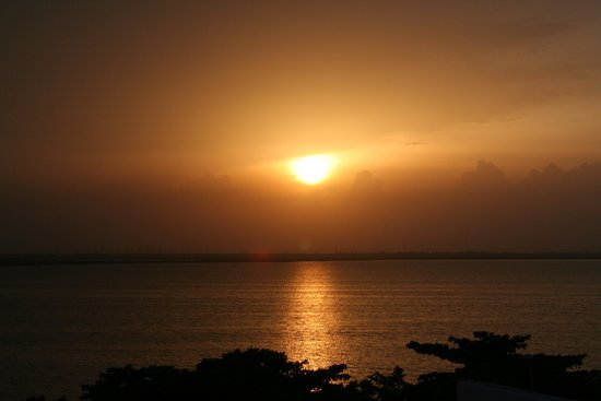 GR Caribe by Solaris: sunset view from our balcony