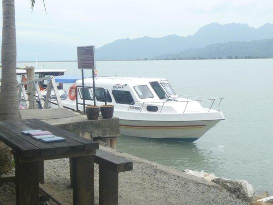 Vivanta by Taj Rebak Island, Langkawi : The Boat waiting to take us