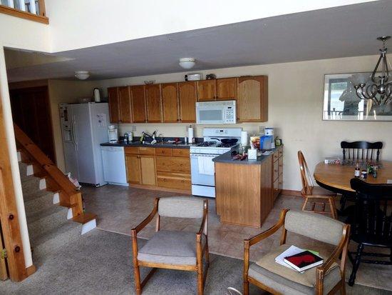 "Georges Mills Cottages: Interior of ""Oak"""